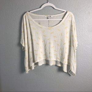 Dragonfly Crop Top // F21